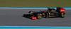 Heidfeld/Lotus-Renault. Jerez 12 Febrero 2011