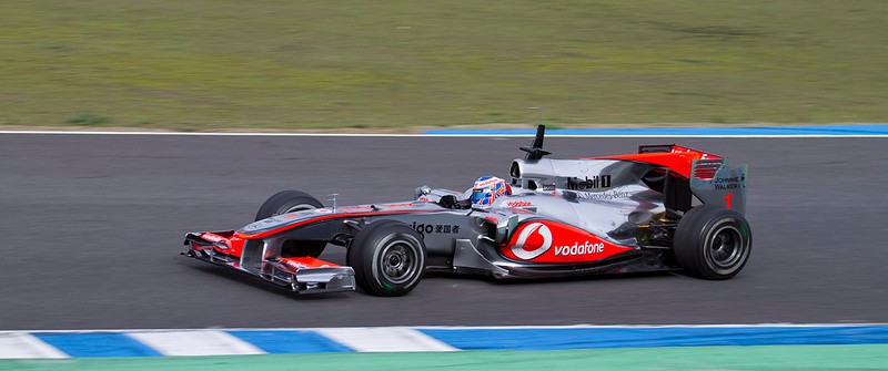 Jenson Button, McLaren. Jerez, Febrero 2010