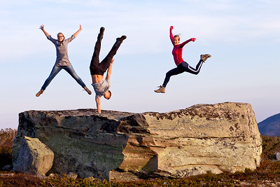 Its real - no photoshop'ing! My three fantastic kids!