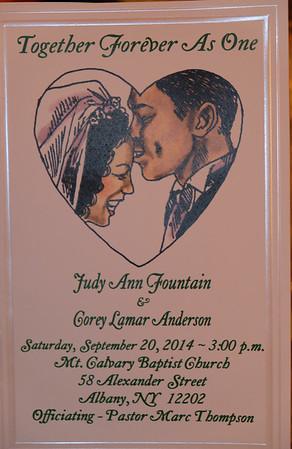 Fountain-Anderson Wedding