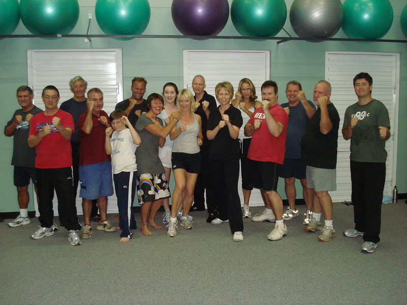 Another Successful Elite Self Defence Course Noosa March 2011