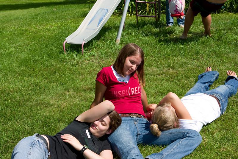Alli, Gennie, and Molly.
