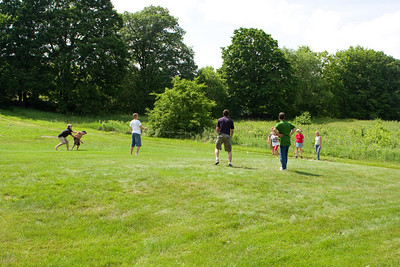 Whiffle ball game.