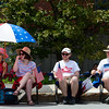 BANGOR, Maine -- 07/04/2017 - People dressed in patriotic garb watch the annual Fourth of July parade from Brewer to downtown Bangor Tuesday. Ashley L. Conti | BDN