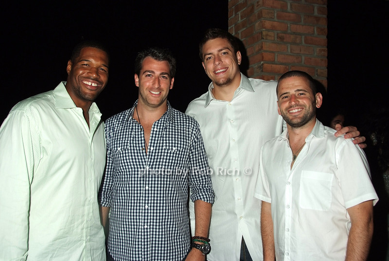 Michael Strahan, Mark Birnbaum, David Lee, Eugene Remm<br /> photo by Rob Rich © 2008 516-676-3939 robwayne1@aol.com