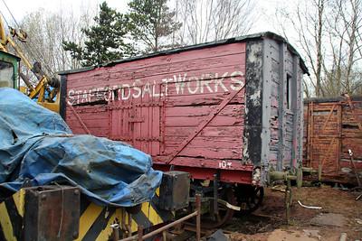 3731 10t Non Vent Van 'Stafford Salt Works'   25/04/13