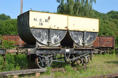 NCB 16 10t Double Steel Hopper   17/06/17