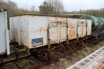 E303255/NCB20 LNER 20t Steel Open   25/04/13