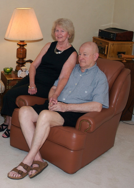 Lt. Mike Hall, USCG (Retired) with wife, Eleanor <br /> Taken in August 2007 during an interview with former World Airways and Delta Airline Captain Chuck Martin, of the Bermuda Sky Queen, and Lt. Mike Hall, USCG (Retired), former Gunnery Officer, USCGC Bibb. The interview was conducted by Jim Sherwin of Sherwin Media and filmed by John Sherwin of Videos on the Net. Also attending were Chuck\'s wife, Jane, herself a retired Delta Air Lines Flight Attendant, Mike\'s wife Eleanor, Margaret O\'Shaughnessy, Director of the Foynes Flying Boat Museum, museum supporters Arlene and David Brown, and author Mike Walling.<br /> 20070815<br /> DSC_1661