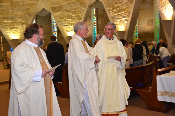 Fr. Jan de Jong's retirement celebration