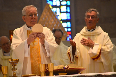Fr. Jan and Fr. Tom.