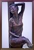 Manuelita Brown lecture about her bronze sculptures.