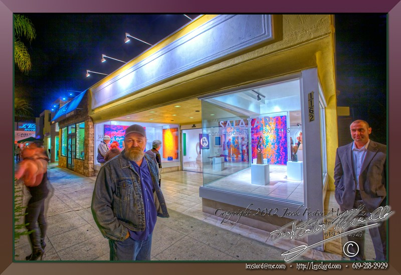 """Fred Briscoe at the Salazar Contemporary Exhibit Space in La Jolla. <a href=""""http://lenslord.com/2012/02/04/fred-briscoe-at-alexander-salazar-contemporary-exhibit-space-in-la-jolla/"""">Link to the article on my blog.</a> <a href=""""http://www.thelenslord.com/Clients/Alexander-Salazar-Fine-Arts/20120203-HeidiThompson/21328450_QQH4Px#!i=1698550075&amp;k=s3P53xp"""">Link to buy this image.</a>"""