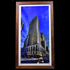Carew Tower in downtown Cincinnati from Fountain Square.<br /> <br /> Red Oak.