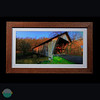 Covered bridge in Lewis County, Kentucky.<br /> <br /> Red Oak.