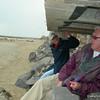 Under the Beach Guards Hut