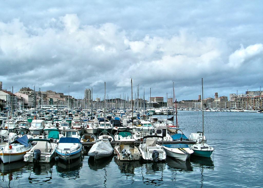 Vieux Port, Marseilles, France