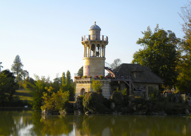 The fishing tower in the hamlet at Versailles