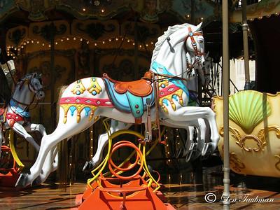 Avignon Merry-Go-Round Horse