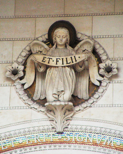 The Angel of Fourvier, Lyon, France