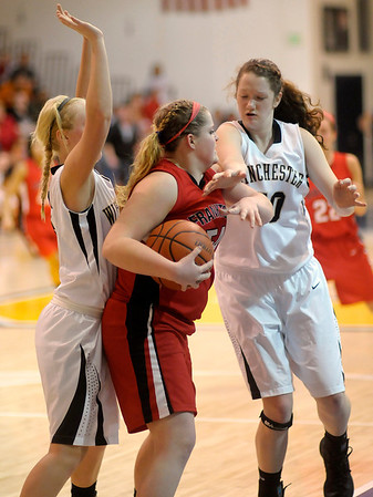 Frankton faced Winchester in the sectional final at Shenandoah.