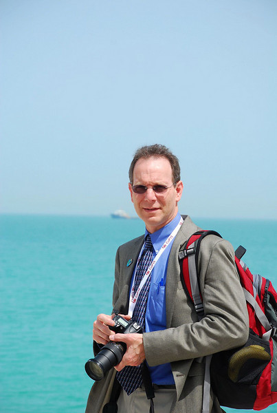 On a break during CoP15 in Doha, Qatar, March 2010