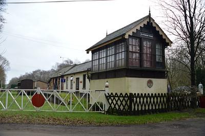 The Old Raynham Park signal box   13/02/16