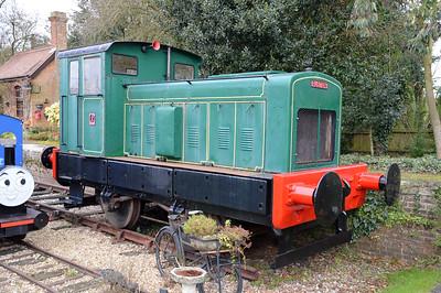4wDM 398611 at Fransham Old Station, Norfolk   13/02/16