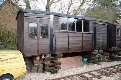 LMS 42551 HB (BO) at Fransham Old Station, Norfolk   13/02/16