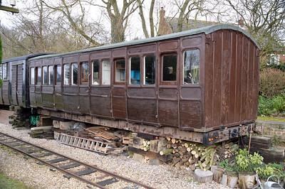 GER 1235 TY (BO) at Fransham Old Station, Norfolk   13/02/16