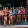 Eliteläuferinnen beim Start