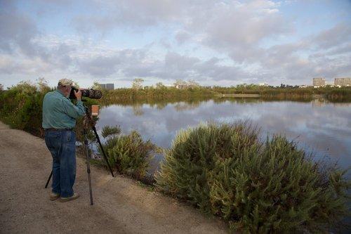 FRED BICKSLER 39<br /> FCB at the San Joaquin Marsh