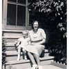 """(photo-ea) - . . <br /> - """"""""Lottie and Darlene"""""""" :: {from Rita}.<br /> - - Partially smudged stamping on back looks like, """"Moen Photo Service , Enamel ..tone Prints , La Crosse, Wis."""" and """"E15"""".<br /> - - - - Scanned print size 2-3/8"""" x 4-1/2"""".<br /> ----- Print sent to Darlene."""