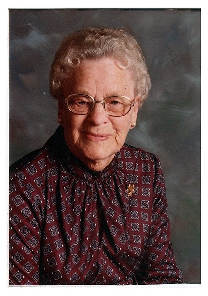 "(photo-bw) . . . Judith<br /> <br /> - - ""My 83rd birthday , Aug. 28- 1982"" :: {written on back}."