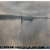 """(photo-dy) - . . <br /> - - Being with Jeanne's collection of Fredine photos, I assumed this as a photo of Lake Pepin. Then, an internet search informed me this shipwreck happened in the St. Mary's River between Michigan and Canada. Why was this photo with the Fredine collection? Did a Fredine relative have a connection to one of these ships, or to the location?<br /> -----------------------------------------<br />  ----- From :: <br /> <a href=""""http://www.maritimehistoryofthegreatlakes.ca/documents/scanner/04/03/default.asp?ID=c004"""">http://www.maritimehistoryofthegreatlakes.ca/documents/scanner/04/03/default.asp?ID=c004</a> <br />  """"..... SAXONA was returned to service and sailed for Tomlinson until 1917 when she again met disaster in the form of collision. Ironically, the accident scene was once again the St. Mary's River, only a few miles below the location of the 1906 accident. On May 14, 1917, SAXONA, collided head-on with the Pittsburgh Steamship Company's 1903-built steamer PENTECOST MITCHELL just above the village of DeTour in the Pipe Island Channel. SAXONA had been upbound with coal and sank in some fifty feet of water. To make matters worse, the two vessels had remained locked together by the bows as they settled. The Zenith Steamship Co. abandoned SAXONA to the underwriters from whom she was purchased, cargo included, for a sum of $75,000. by the Reid Wrecking Co. of Sarnia. While another salvager had great difficulty with the MITCHELL, Reid raised SAXONA relatively easily by means of two cofferdams which were placed over the deck, allowing her to be pumped dry. She was taken to Collingwood under tow and was rebuilt by the Collingwood Shipbuilding Co. Ltd. ....."""""""