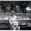 "(photo-bq) . . . ""Maria's 90th birthday - 1957"" :: {from Bob & Rita Elmen's Fredine family history}.<br /> - - ""Grandma"" :: {written on back}."
