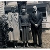 "(photo-dd) - . . <br /> - - ""Florence , Donna , Elmer"" :: {from Bob & Rita Elmen's Fredine family history}."