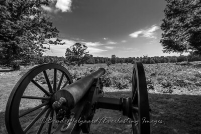 Canon over looking the battlefield of Spotsylvania