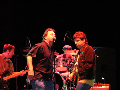 Southside Johnny and the Asbury Jukes, Echo Lake Park, Westfield NJ, Sept 2004.  That's John Lyons and Bobby Bandiera on guitar.  Attn Southside Johnny, I would be glad to shoot more:)   Copyright 2006 John M. Cerra