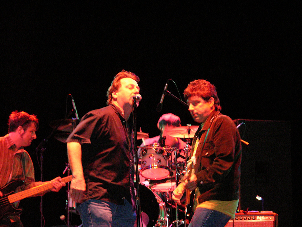Southside Johnny and the Asbury Jukes, Echo Lake Park, Westfield NJ, Sept 2004.  That's John Lyons and Bobby Bandiera on guitar.<br /> <br /> Attn Southside Johnny, I would be glad to shoot more:)<br /> <br /> <br /> Copyright 2006 John M. Cerra