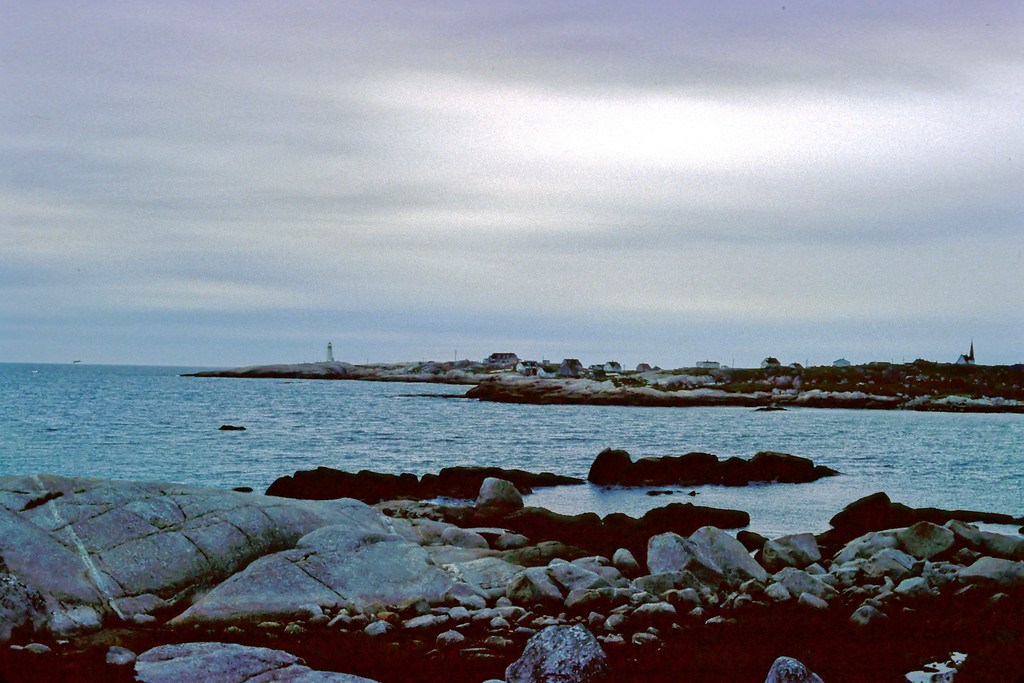 Peggy's Cove, Nova Scotia, Agust 1979<br /> <br /> Copyright 2006 by John M. Cerra