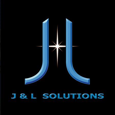 Original freelance logo for client. J&L Solutions.