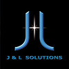 Original freelance logo for client. J&L Solutions.