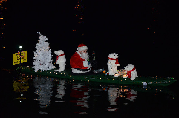 Freeport Boat Parade 2013