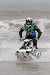 Freestyle jet ski competitor