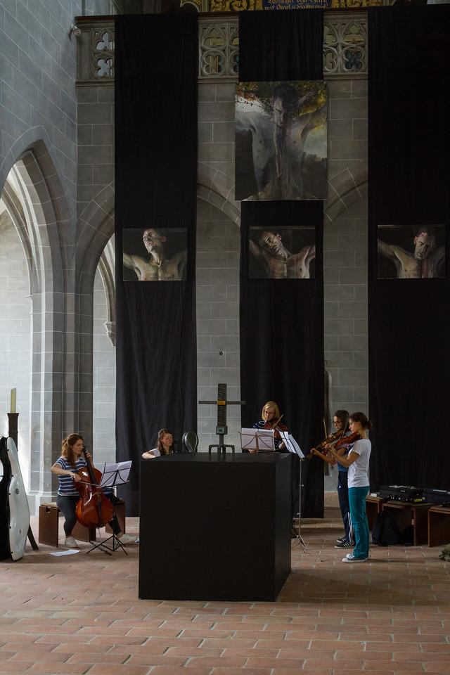 Music rehearsal, Freising Dom