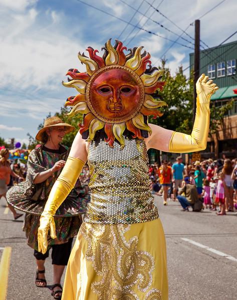 Sun Performer In Parade Ensemble