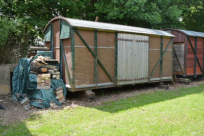 1xxxxx GWR 12t Vent Van Mink A 'Ply', French Drove & Gedney Hill Old Station, Spalding  29/05/17