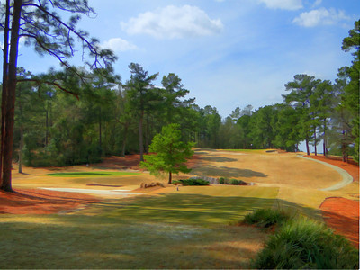 Aiken golf club Hole #9, Aiken, SC