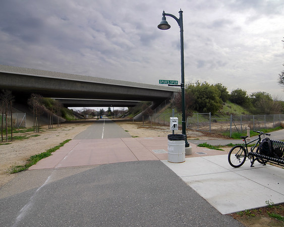 Fresno Sugar Pine Trail / Clovis Old Town Trail, Bike Ride, 2/18/2012
